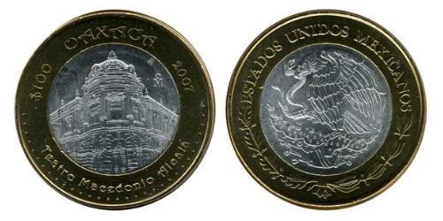 100 Peso 墨西哥 Bimetal