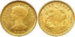 100 Peso Chile Oro