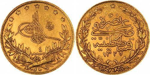 100 Piastre Impero ottomano (1299-1923) Oro