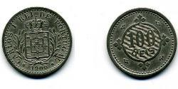 100 Reis Kingdom of Portugal (1139-1910) Copper/Nickel Carlos I of Portugal (1863-1908)