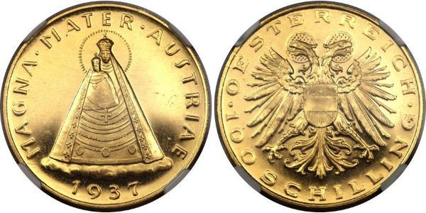 100 Shilling Federal State of Austria (1934-1938) 金