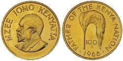 100 Shilling Kenia Gold