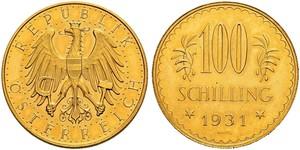 100 Shilling Première République d