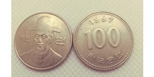 100 Won Corée du Sud