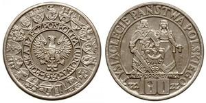 100 Zloty Repubblica Popolare di Polonia (1952-1990) Argento