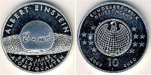 10 Євро Федеративна Республіка Німеччина (1990 - ) Срібло