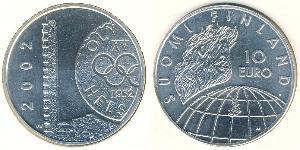 10 Євро Фінляндія (1917 - ) Срібло
