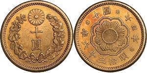 10 Ієна Японія Золото