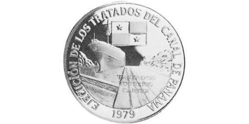 10 Бальбоа Республика Панама Серебро