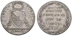 10 Батц Швейцария Серебро