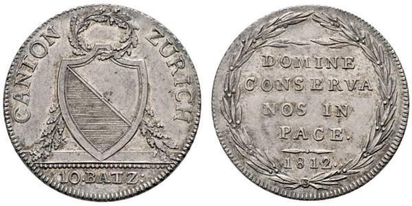 10 Батц Швейцарія Срібло