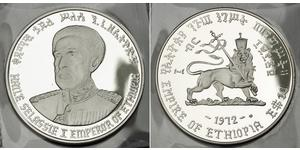 10 Доллар Эфиопия Серебро Хайле Селассие