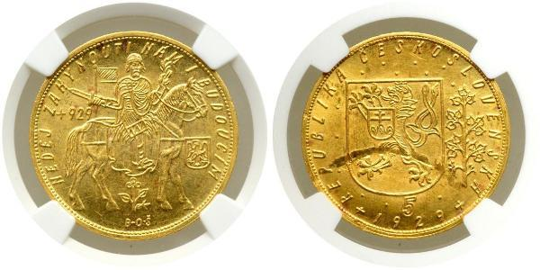 10 Дукат Чехословакія (1918-1992) Золото