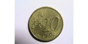 10 Евроцент Федеративная Республика Германия (1990 - ) Алюминий/Цинк/Олово/Медь