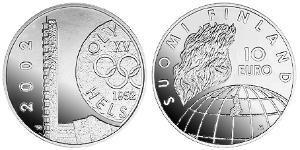 10 Евро Финляндия (1917 - ) Серебро