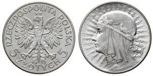 Злотий ціна монеты с цветной эмалью