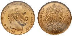 10 Марка Німеччина Золото