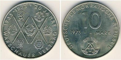10 Марка Германская Демократическая Республика (1949-1990) Никель/Медь