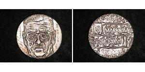 10 Марка Финляндия (1917 - ) Серебро Паасикиви, Юхо Кусти