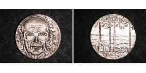 10 Марка Финляндия (1917 - ) Серебро Кекконен, Урхо