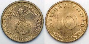 10 Пфеніг Третій рейх (1933-1945)
