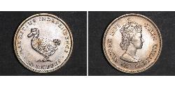 10 Рупія Маврикій  Єлизавета II (1926-)
