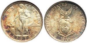 10 Сентаво Филиппины Серебро