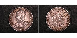 10 Сентесимо Республика Панама Серебро Нуньес де Бальбоа, Васко (1475 – 1519)