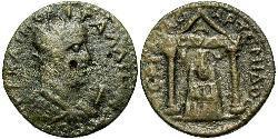 10 Assarion Roman Empire (27BC-395) Bronze Gallienus (218-268)