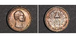 10 Baht Thailand Silber