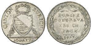10 Batz Suiza Plata