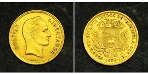 10 Bolivar Venezuela Or Simon Bolivar (1783 - 1830)