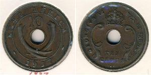 10 Cent East Africa 青铜 乔治六世 (1895-1952)