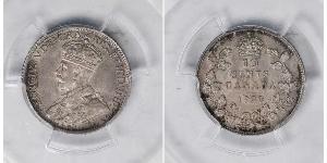 10 Cent Canada Argento Giorgio V (1865-1936)