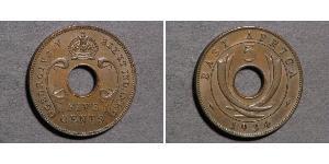 10 Cent África Oriental Bronce Jorge V (1865-1936)