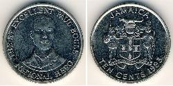 10 Cent Jamaica (1962 - ) Copper/Nickel