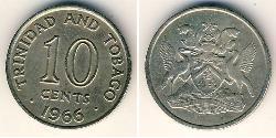 10 Cent Trinidad and Tobago Copper/Nickel