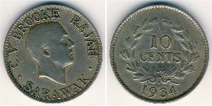 10 Cent Sarawak Cuivre/Nickel