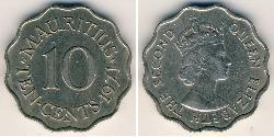 10 Cent Mauritius Kupfer/Nickel