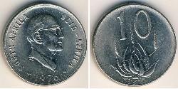 10 Cent Sudáfrica Níquel/Cobre