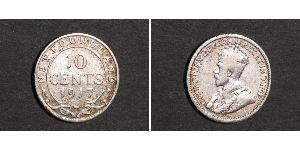 10 Cent Kanada Silber George V (1865-1936)