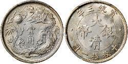 10 Cent Volksrepublik China Silber