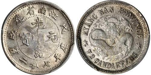 10 Cent Volksrepublik China Silber