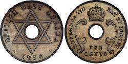 10 Cent British West Africa (1780 - 1960) Silver