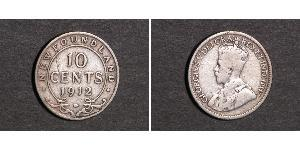 10 Cent Canada Silver George V of the United Kingdom (1865-1936)