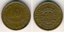 10 Centavo Mozambique Bronze