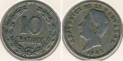 10 Centavo El Salvador Copper/Nickel