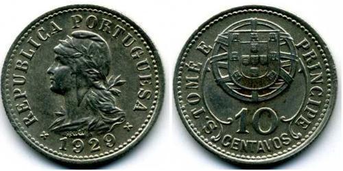 10 Centavo São Tomé and Príncipe (1469 - 1975) Copper/Zinc