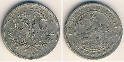 10 Centavo Bolivien (1825 - ) Kupfer/Nickel