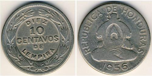 10 Centavo Honduras Kupfer/Nickel